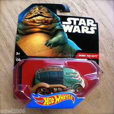 Disney STAR WARS Hot Wheels JABBA THE HUTT #24 diecast Mattel Garbage Truck ROTJ
