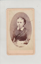 SAN FRANCISCO, CA. YOUNG WOMAN. ANTIQUE CDV BY NEW YORK GALLERY