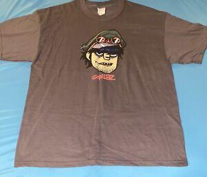 Vintage Gorillaz T-shirt Tee Murdoc Official Merch XL New Unworn Blur