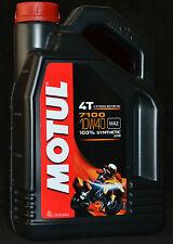4 Liter Motul 7100 Motorrad Öl  4T Motoröl 10W40 Vollsynthetisch 10W-40 ESTER
