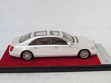 Maybach 62s white CMR handbuilt 1/43, certificate , rare, exclusive
