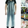 """47""""x28"""" Clear Waterproof Apron PVC Unisex for Cooking Restaurant Kitchen Chef"""