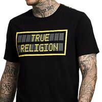 True Religion Men's TR LED Tee T-Shirt in Black