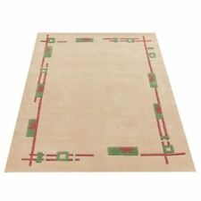 Novelty Bordered Rectangle Rugs