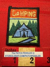 Outdoor TENT CAMPING Jacket Patch ~ Camp Camper  C63G