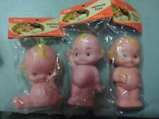 New ListingVintage 1979 Tidy squeeze toys baby dolls lot, still in bag Ultra rare