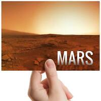 "Mars Planet Surface NASA Space Small Photograph 6""x4"" Art Print Photo Gift #8223"