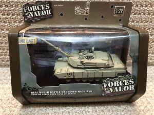 Unimax Forces of Valor 1:72 U.S. M1A2 Abrams, Baghdad 2003, No. 98500