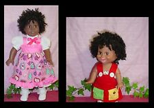 Monique Doll Wig 12/13 fits American Girl, Galoob Baby Face, -