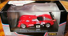 2000 PANOZ SPYDER LMP LeMANS 1:43 DIE CAST WITH DISPLAY CASE RED