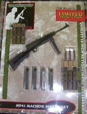 """Yellow Submarine 1/6 scale WWII German MP41 Machine Pistol Set for 12"""" Figures"""