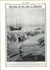 1910 Cape Town Pageant Story Count Leo Tolstoy Stages Of Manhood