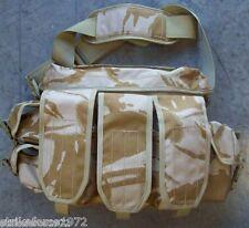 NEW - British Army Desert Camo Snatch Bag / Ammunition Grab Bag - Afghan Issue