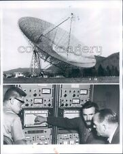 1968 Radio Telescope Green Bank West Virginia Press Photo