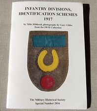 WW1 Infantry Division Cloth Badges Flashes Identification Formation Patches Book