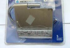 Metaform porta rotolo chiuso da parete in ottone vetro leghe metalliche ONE 752