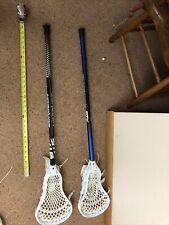 Men's Lacrosse Sticks x2 stx scandium pro and surgeon minimal use