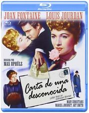A LETTER FROM AN UNKNOWN WOMAN (1948 Joan Fontaine) -  BLU RAY - Sealed Region B