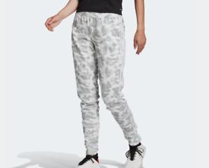 adidas Tiro Training Pants Womens 2XL Authentic White All Over Camo Print Soccer