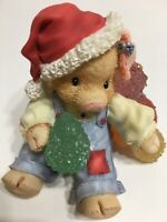 This Little Piggy Figurine Enesco Su-eet Christmas Gumdrops VTG 1996 w/Box RARE