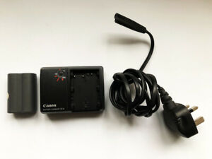 Genuine Canon battery charger CB-5L for 50D 40D 30D 20D 10D with lead + battery