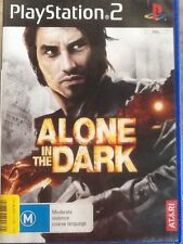 ALONE IN THE DARK Sony PlayStation 2, PS2 Game & Booklet