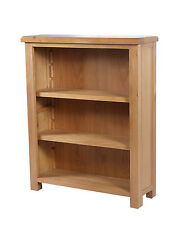 Casamoré Farmhouse Oak 3 Shelf Bookcase /  Bookshelf