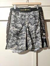 Clinch Gear Men's Board Shorts Size 32Us Army Camo Mma Ufc Boxing