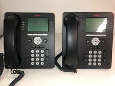LOT 2X TELEPHONE PHONE Avaya  9508 WITH SUPPORT