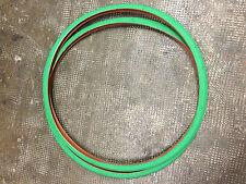 Coppia gomme/copertoncino 700x23 colore verde.bici fixed/fissa/corsa