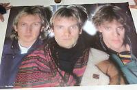 "VTG Sting The Police Roxanne Music 1983 35 x 23"" Poster Print Funky Enterprise"