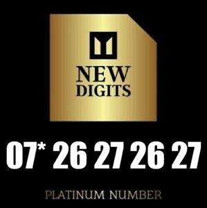 GOLD MEMORABLE VIP PLATINUM MOBILE PHONE NUMBER SIM CARD EXCLUSIVE