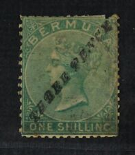 CKStamps: GB Bermuda Stamps Collection Scott#12 Used Perfs Added