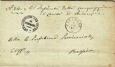 G313-LOMBARDIA, FRANCHIGIA, DA PADENGHE SUL GARDA A BRESCIA, 1862