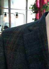 NEW! HACKETT Men's Blue Green Jacket Wool Windowpane Tweed Check Blazer 40R $750