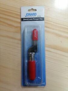 Jonard TTB-6 Steel Barrel Lock Plunger Key