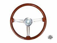 Tipo Hellebore Volante Alfa Romeo 105/115 Spider Gt de Madera 390mm + Cubo