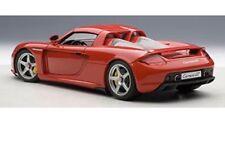 PORSCHE CARRERA GT RED 1:18 DIECAST MODEL CAR AUTOART WITH BOX