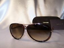 New Authentic Sunglasses Tom Ford Cyrille 109 28K Havana Rose Gold