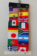 ODD SOX NATIONAL FLAGS SOCKS Usa Japan UK England Portugal Germany France