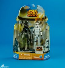 Star Wars Mission Series Rebels Stormtrooper & Tie Fighter pilot MS17 CND MOC !
