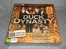 DUCK DYNASTY REDNECK WISDOM FAMILY PARTY GAME - NEW FACTORY SEALED