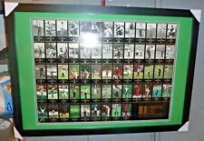 1997 Champions of Golf Masters Tiger Woods Rookie Uncut Sheet Poster RARE framed