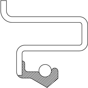 Steering Knuckle Seal Front National 710167
