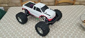 HPI Savage RC Radio Controlled Nitro Monster Truck, With Reverse! Upgraded!