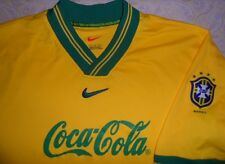 1999 BRAZIL Copa America Training Shirt NIKE Soccer Jersey LARGE L