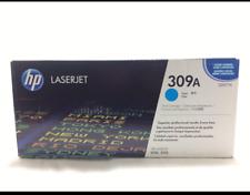 Genuine HP 309A Print Cartridge - Cyan - For HP LaserJet 3500 & 3550 - New