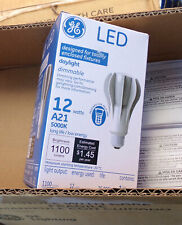 Led Dimmable Light bulb 6-pack 5000K Ge A21 1100 Lumens New in box 73404