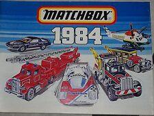 Matchbox 1984 catalogue