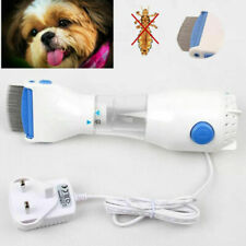 New Dog Electric Head Lice Fleas Removal Treatment Eliminate Vacuum Comb Tool
